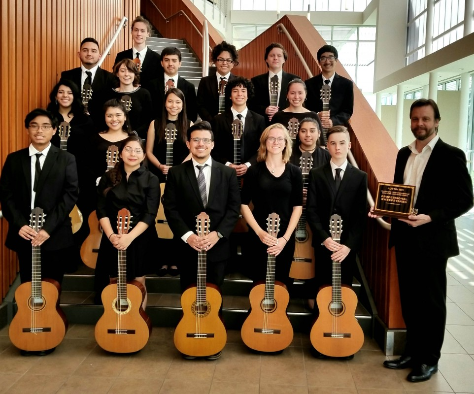 Crockett Guitar Sweepstakes at UIL