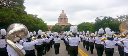 Crockett Band performing at The Capitol in Austin.